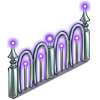 Neon Purple Fence-icon