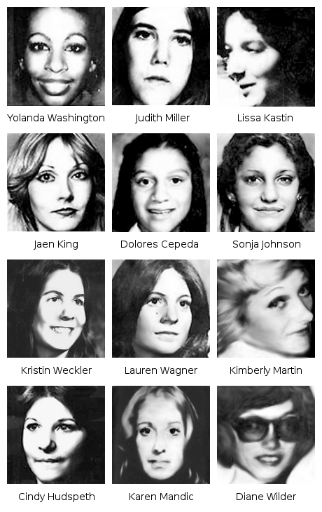 The Hillside Strangler Victims