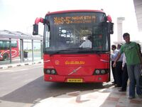 Bangalore Red Bus