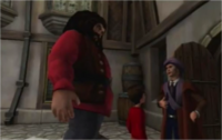 Quirrell potter hagrid