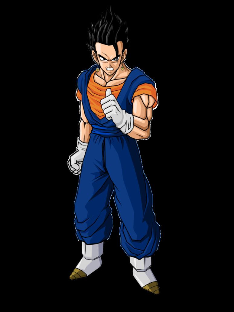 Vegehan - Ultra Dragon Ball WikiGohan And Vegeta Fusion