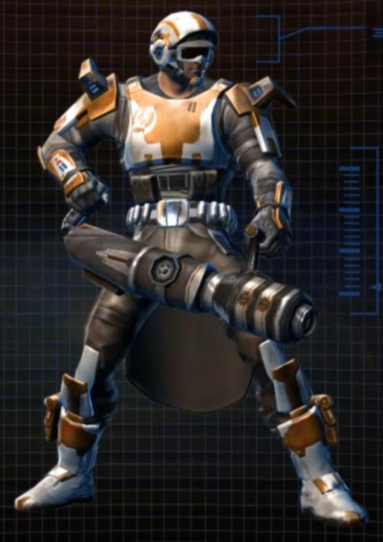 Star Wars The Old Republic Commandos Helmet