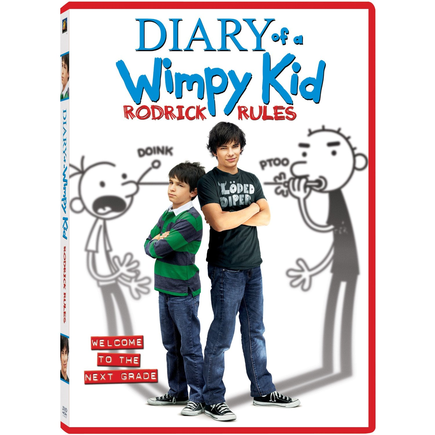 Diary Wimpy Actor 2017: Rodrick Rules DVD Cover.jpg