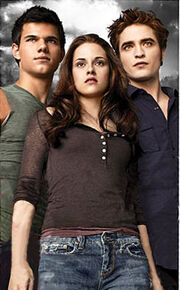 Edward, Bella and Jacob 3