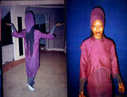 Guinan, costume polaroid