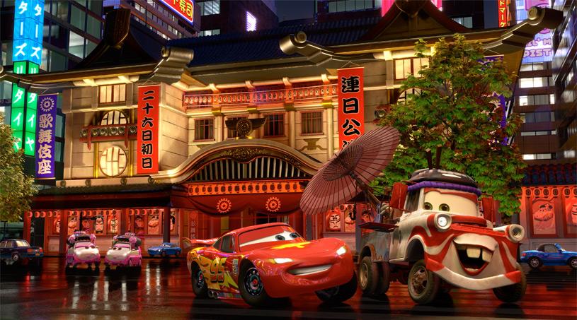 La voiture du film Cars 2 que vous aimeriez voir en miniature Mattel ! - Page 5 Cars_2_-_Kabuki