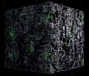 Borg cube CGI second variant