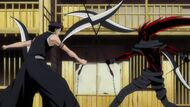 Kazeshini & Hisagi battle for the final time, Ep. 260