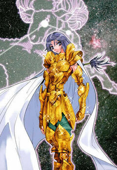 EPISODE G - Enciclopedia dei personaggi - GOLD SAINT - Aries Mu