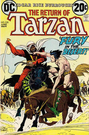 Cover for Tarzan #220