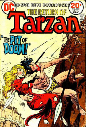 Cover for Tarzan #223