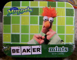 Muppet mints beaker