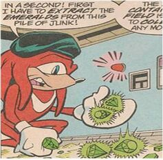 Anti-Knuckles with Anarchy Beryl