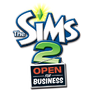 The Sims 2 Open for Business Logo