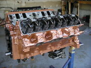 Oldsmobile 400cu-in big block engine