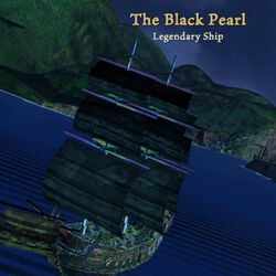 Black Pearl legendary ship