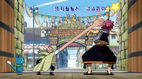 Makarov chastises Natsu
