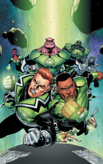 Green Lantern Corps Vol 3 1 Textless