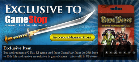 Ornate Katana Membership Promotion