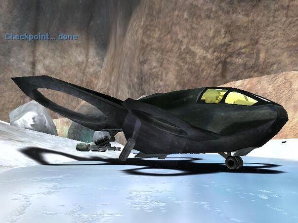 Kestrel  es una nave de reconocimiento o de rescate  en su interior    Halo Albatross Dropship