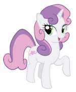 Adult Sweetie Belle by CATCHMAN