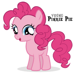 Pinkie Pie Filly by BlackM3sh