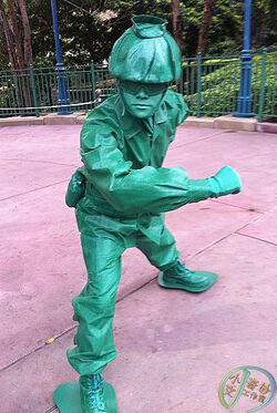 Green Army Men HKDL