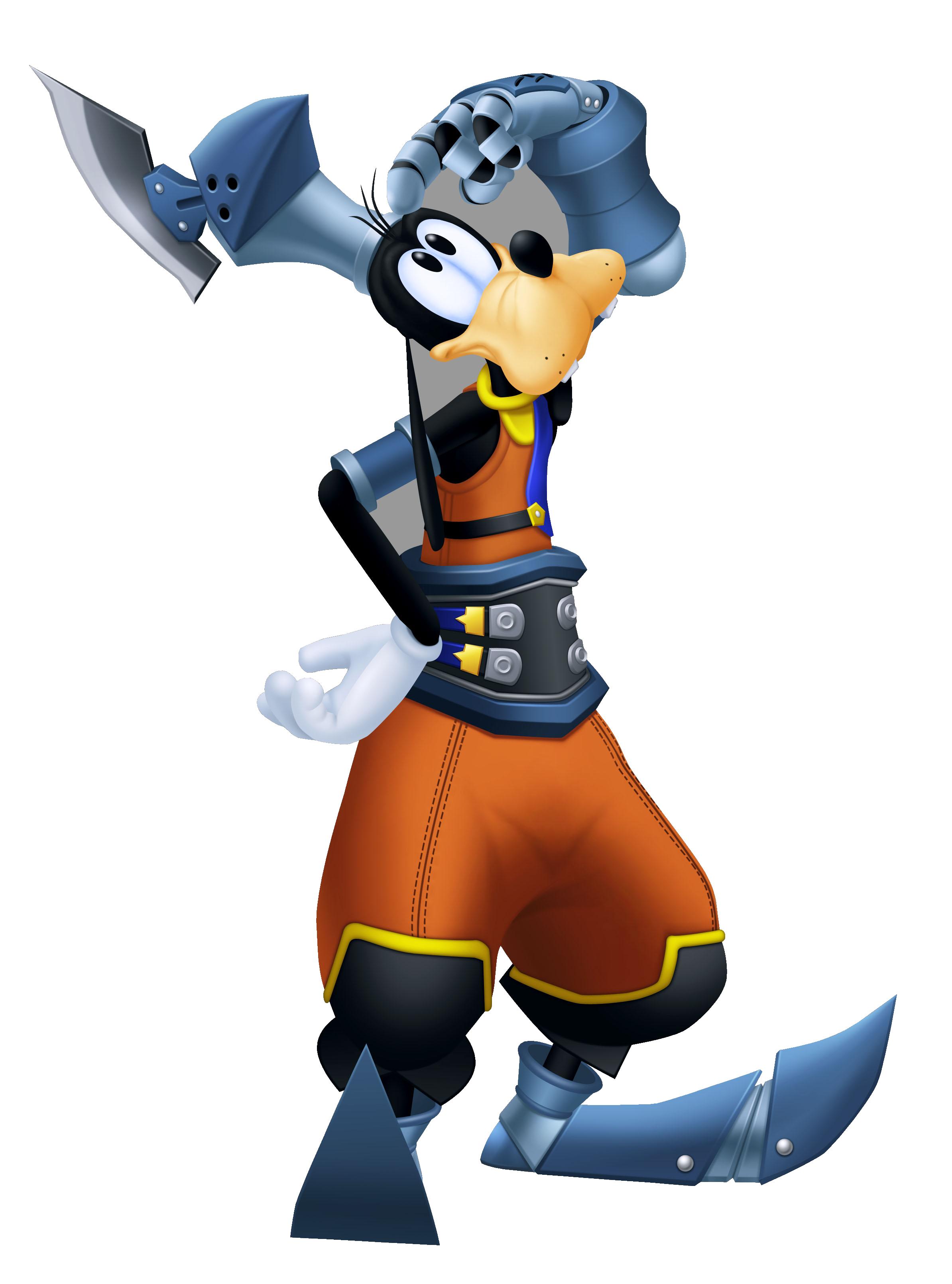 Goofy - The Keyhole: Ye Olde Kingdom Hearts Fansite