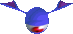 Eyebat blue