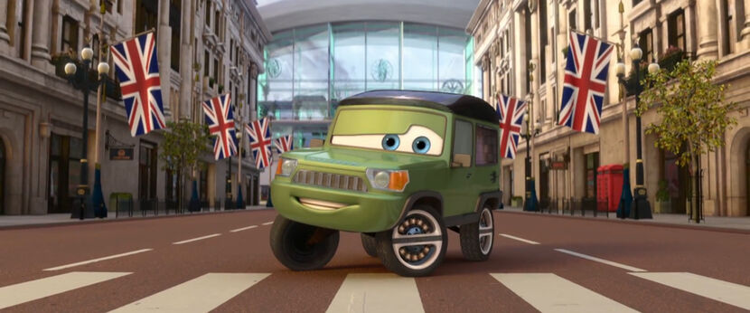 Cars  Getting Miles Axlerod