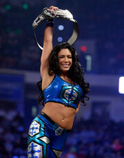 Danielle as PCW Womens Tag Team Champion