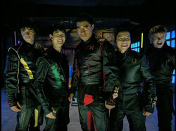 Evil Ninja Storm Rangers Unmorphed