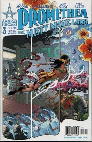 Cover for Promethea #3