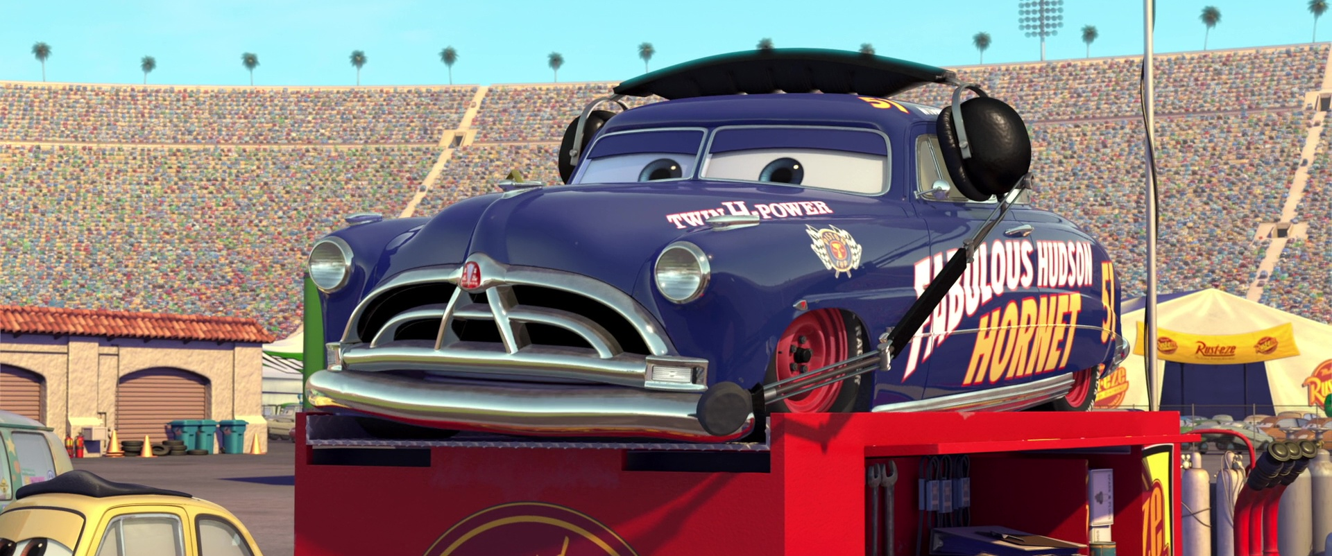 Cars  Doc Hudson Flashback