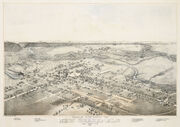 Old map New Braunfels 1881