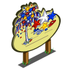 July Confetti Tree Mastery Sign-icon