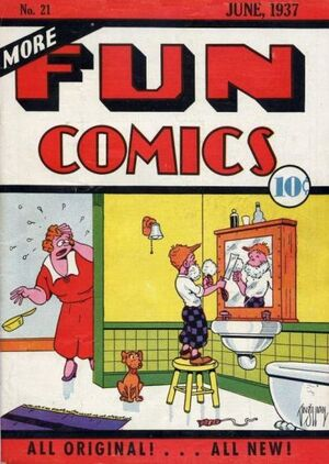 Cover for More Fun Comics #21