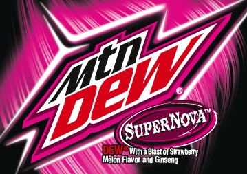 Supernova - The Mountain Dew Wiki - Flavors, Promotions ...