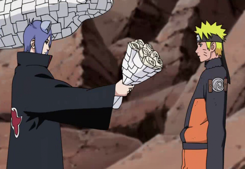 nagato and konan meet naruto episodes