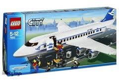 Lego City 7893 Passenger Plane (Пассажирский Самолет) 2006.