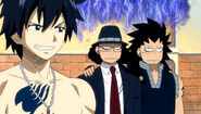 Disappointed Gajeel's
