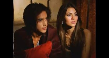 Avan & Vic behind the scenes FTFO