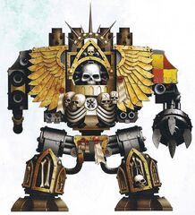 Chaplain Venerable Dreadnought Titus