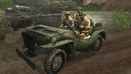 Call of Duty Roads to Victory Jeep