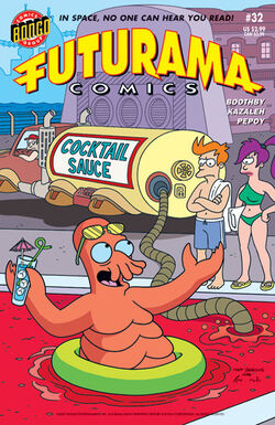 Futurama-32-Cover