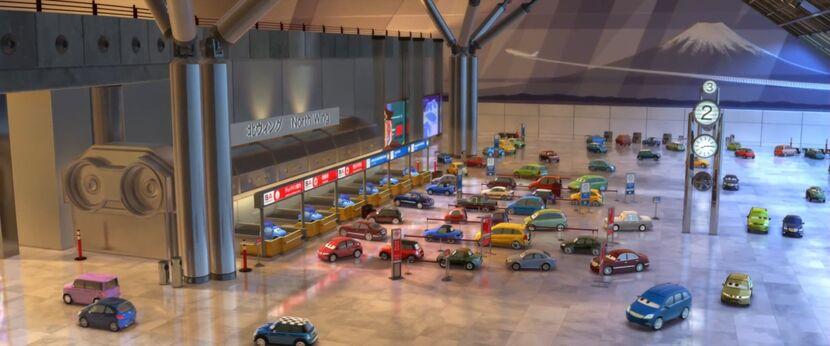 Airport cars 2 tokyo japan.jpg
