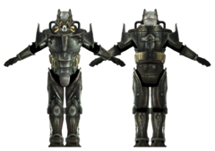 Enclave power armor