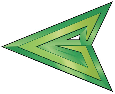 Green Arrow - DC Hall of Justice Wiki Green Arrow Superhero Logo