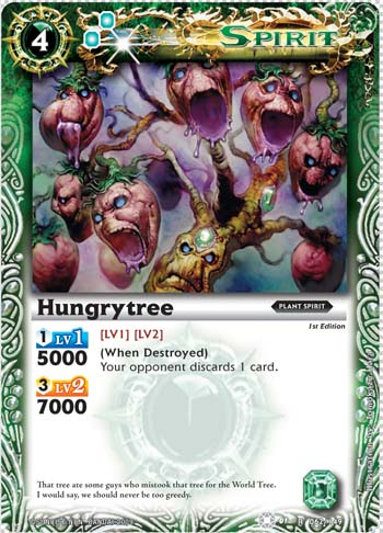 The First of many Hungrytree2
