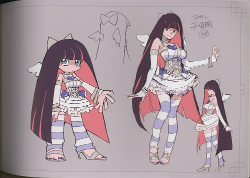 like to get a quote on Panty and Stocking's angel form outfits ...
